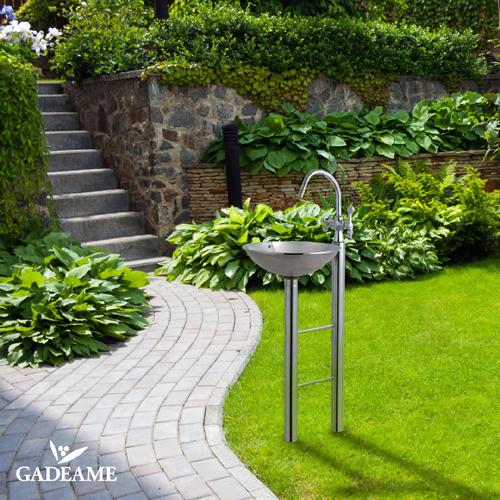 安い購入 スタイリッシュ SENSUI ウォーターポスト 泉水 品番:335G クラウン+2 日本製 送料無料 ガーデン立水栓 高品質:ガデアメ-エクステリア・ガーデンファニチャー