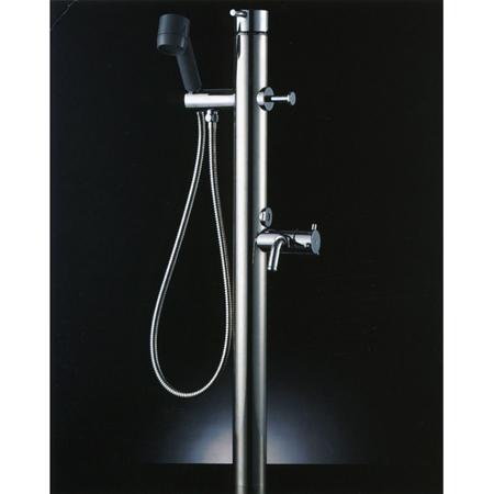 ペットのシャンプー・足洗いガーデニング、洗車にINAX ペット用水栓柱LF-932SHK