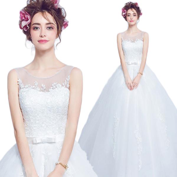 95f4d36fc6e8e ウェディングドレス Aラインドレス 二次会用ウエディングドレス・二次会ドレス・ エンパイアドレス・