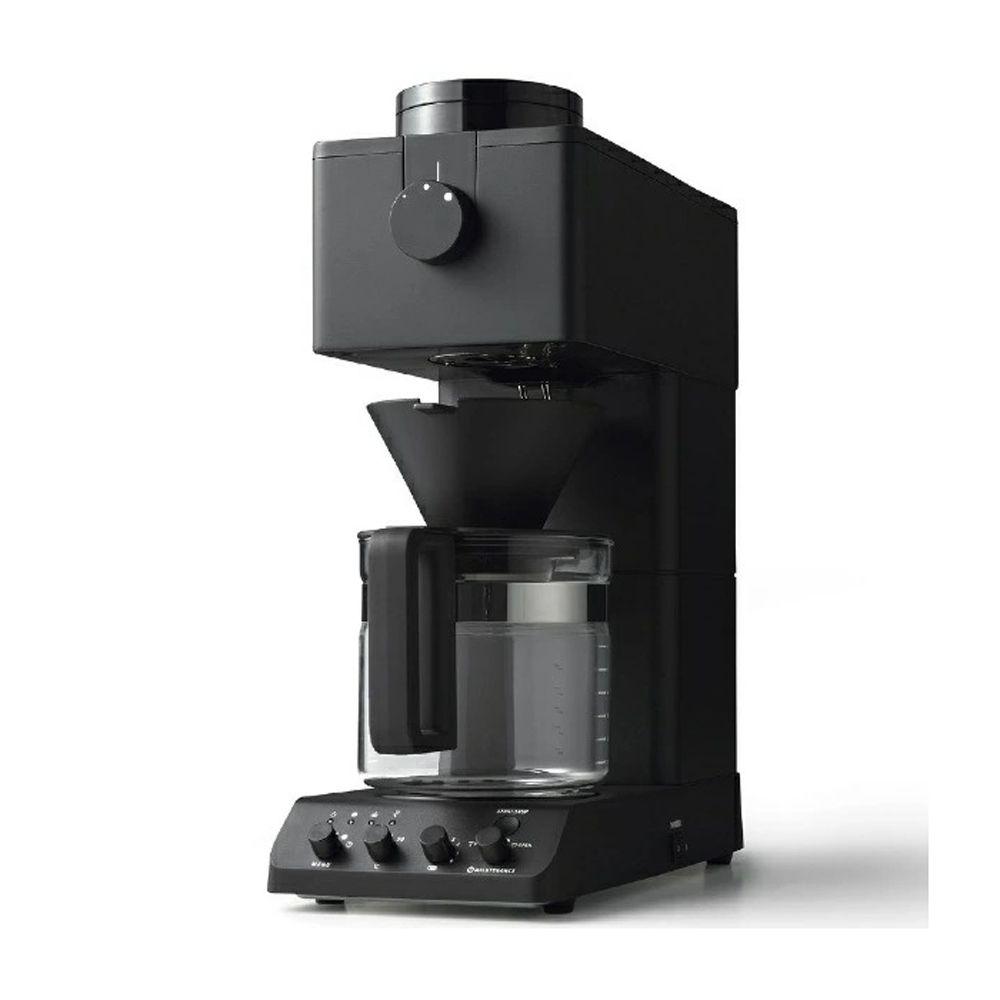 大切な人と 実物 安全 一緒に楽しむ TWINBIRD ツインバード 全自動コーヒーメーカー 大容量 本格 計量カップ ペーパーフィルター 温度調節 お手入れブラシ付 6段階湯量調整機能 CM-D465B