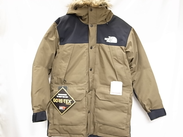 d44b068a5 The North Face ND91835BE 2018AW mountain down coat beach green size L down  jacket outer Gore-Tex