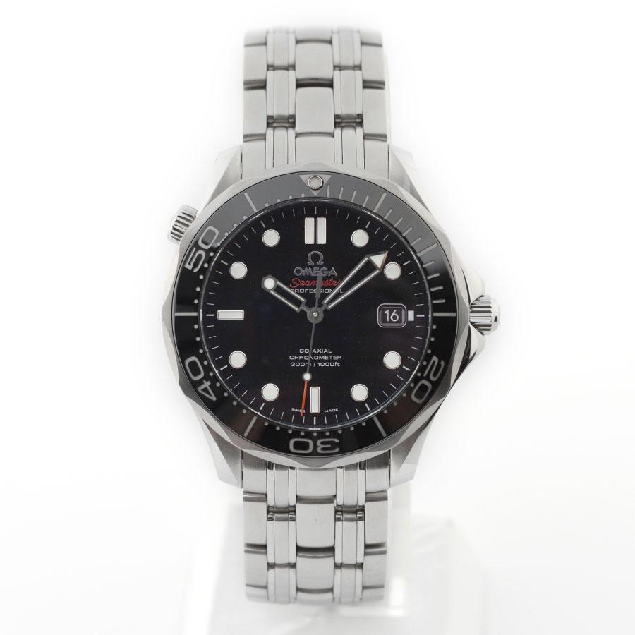 【OMEGA】オメガ 212.30.41.20.01.003 シーマスター ダイバー300M コーアクシャル 41MM ブラックダイアル 自動巻き プロダイバーズ300M 腕時計【送料無料】【中古】