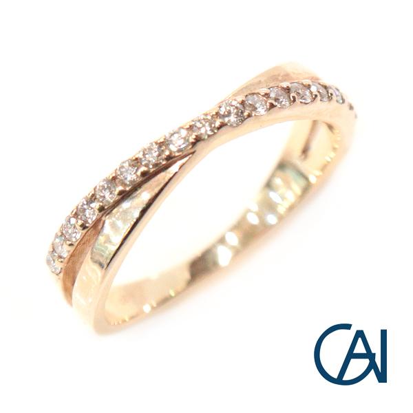 GAI ~Select Jewelry~1文字 ダイヤモンド リング FR【展示新品】
