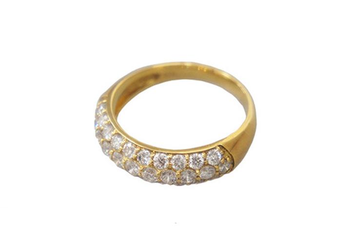 GAI ~Select Jewelry~K18YG ダイヤモンドリングD1.00ct【展示新品】