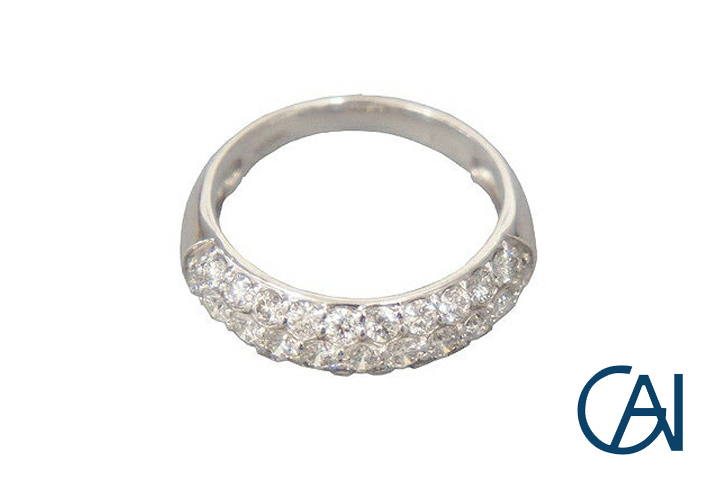 GAI ~Select Jewelry~K18WG ダイヤモンドリングD1.00ct【展示新品】