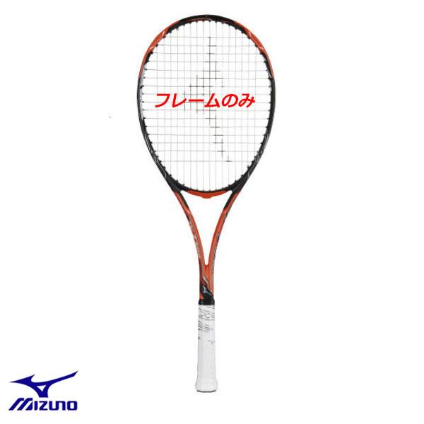 即納可★ 【MIZUNO】ミズノ ソフトテニスラケット ディーアイ T500 DI-T 500 軟式 ソフトテニス 前衛用 中級者向け 63JTN84554(63jtn84554-16skn)