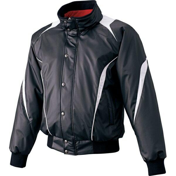 ◆◆ <エスエスケイ> SSK 蓄熱グラウンドコート・フロントフルZIP+ボタン比翼付き・中綿 BWG1007 (9095:ブラック×シルバーグレー) エスエスケイ(bwg1007-9095-ssk1)