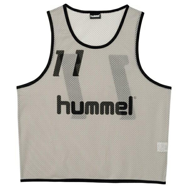 ◆◆ <ヒュンメル> HUMMEL HAK6006Z トレーニングビブス(96:S.グレー) ヒュンメル ビブス(hak6006z-96-mkn-hum)