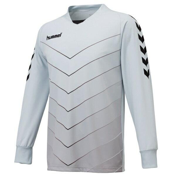 ◆◆ <ヒュンメル> HUMMEL HAK1014 キーパーシャツ(95:シルバー) ヒュンメル ゲームシャツ(hak1014-95-mkn-hum)