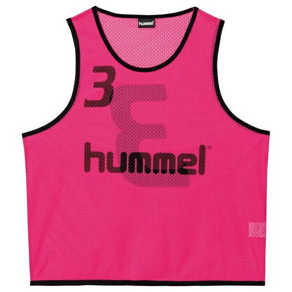 ◆◆ <ヒュンメル> HUMMEL HJK6006Z ジュニアトレーニングビブス(25:ピンク) ヒュンメル ビブス(hjk6006z-25-mkn-hum)