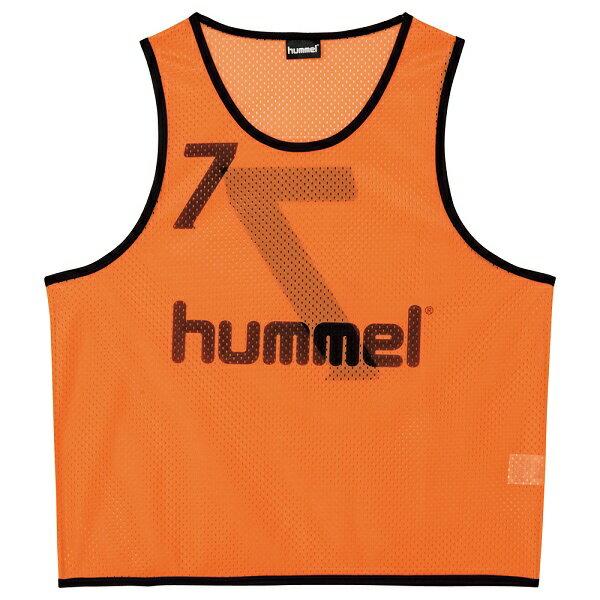 ◆◆ <ヒュンメル> HUMMEL HJK6006Z ジュニアトレーニングビブス(35:オレンジ) ヒュンメル ビブス(hjk6006z-35-mkn-hum)