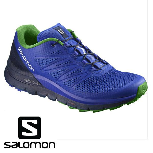 即納可☆ 【SALOMON】サロモン SENSE PRO MAX トレイルランニングシューズ メンズ(l39856200-16skn)