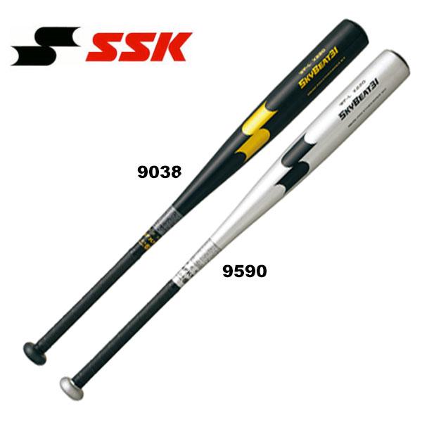 即納可★ 【SSK】エスエスケイ 硬式金属製バット スカイビート31 WF-L 野球 SBB1000(sbb1000-16skn)