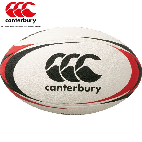カンタベリー CANTERBURY 店内全品対象 定番スタイル ラグビーボール 19:ブラック 5号球 AA00405