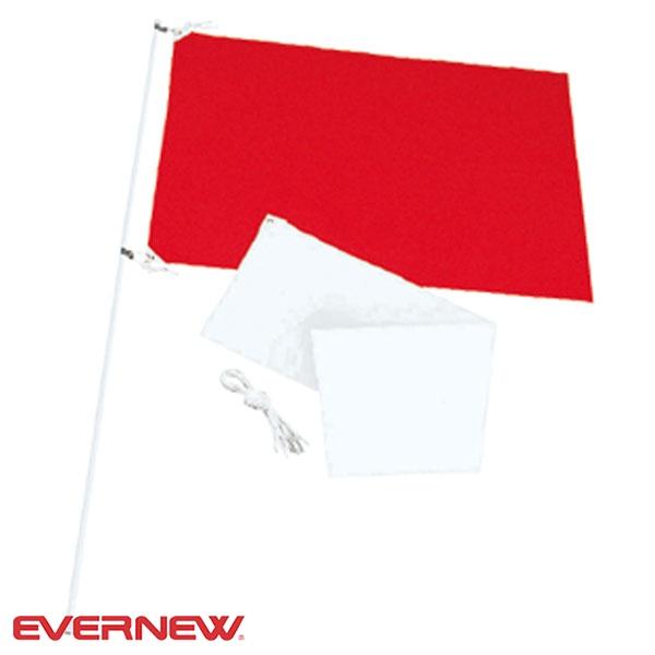 ◆◆○ <エバニュー> Evernew 紅白応援旗P EKA648