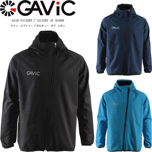 ◆◆ <ガビック> 【GAVIC】 19FW ボンディングピステトップ スランディングZIP メンズ トレーニングウェア サッカー フットサル GA1141
