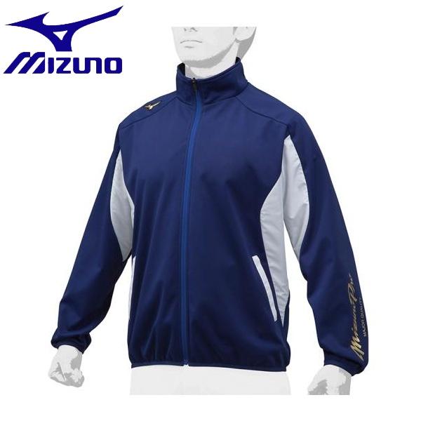 ◆◆ <ミズノ> MIZUNO 【ミズノプロ】テックシールドシャツ[ユニセックス] 12JE8W02 (16:パステルネイビー×ホワイト)