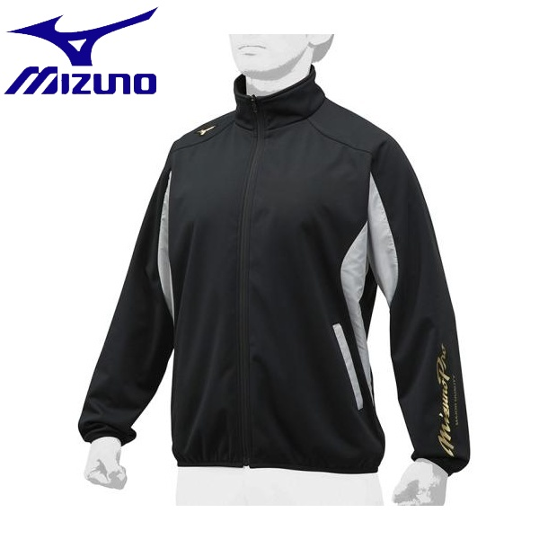 ◆◆ <ミズノ> MIZUNO 【ミズノプロ】テックシールドシャツ[ユニセックス] 12JE8W02 (71:ブラック×シルバー)