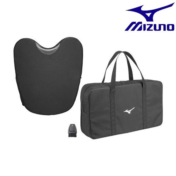 ◆◆ <ミズノ> MIZUNO 審判用プロテクター(硬式、軟式、ソフトボール兼用) 1DJPU130 (09:ブラック)