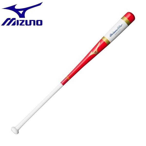 ◆◆ <ミズノ> MIZUNO 【ミズノプロ】木製MPノック(木製/88cm/平均570g) 1CJWK13188 (6201:レッド×ホワイト)