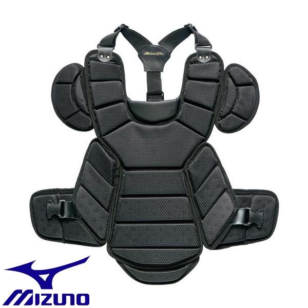 ◆◆ <ミズノ> MIZUNO 【ミズノプロ】硬式用プロテクター(野球) 1DJPH110 (09:ブラック)
