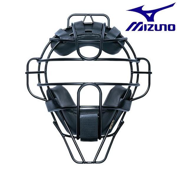 ◆◆ <ミズノ> MIZUNO 【ミズノプロ】硬式/審判員用チタンマスク(野球) 1DJQH100 (14:ネイビー)