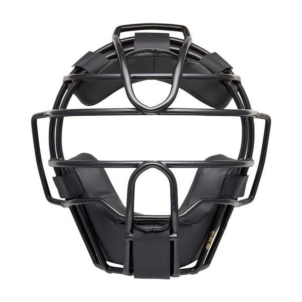 ◆◆ <ミズノ> MIZUNO 硬式/審判員用マスク(野球) 1DJQH120 (09:ブラック)