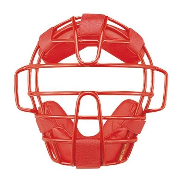 ◆◆ <ミズノ> MIZUNO 少年硬式用マスク(野球) 1DJQL120 (62:レッド)