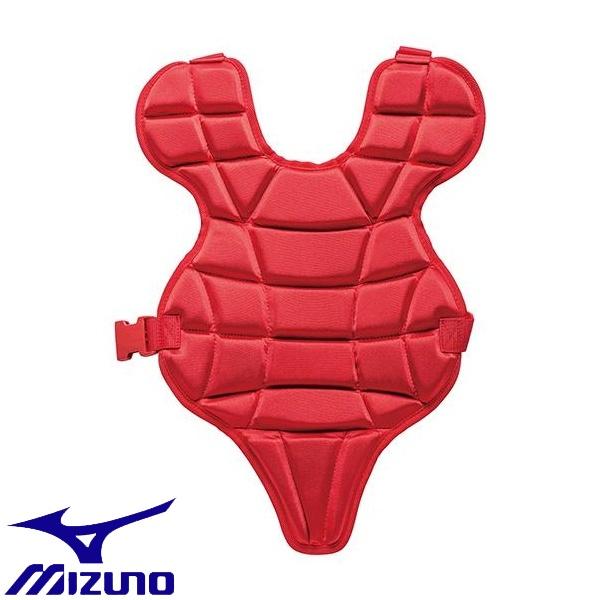 ◆◆ <ミズノ> MIZUNO 少年硬式用プロテクター(野球) 1DJPL100 (62:レッド)