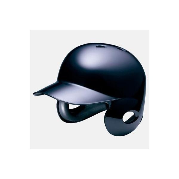◆◆ <ミズノ> MIZUNO 硬式用ヘルメット(両耳付打者用/野球) 2HA177 (09:ブラック)