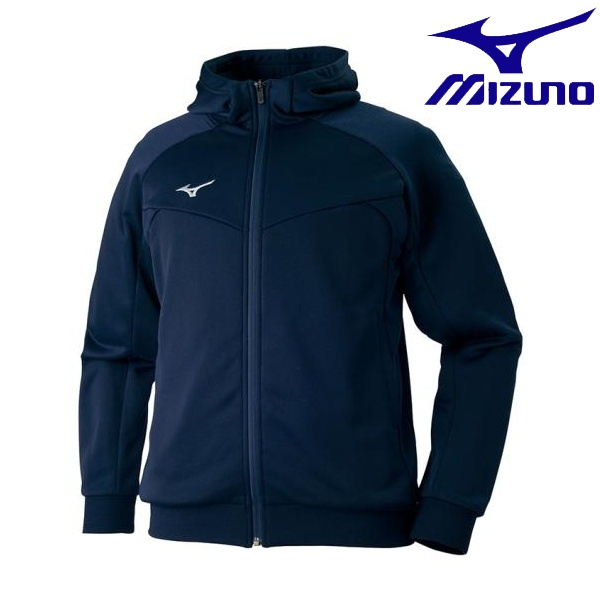 ◆◆ <ミズノ> MIZUNO スウェットシャツ[メンズ] 32MC7160 (14:ディープネイビー)