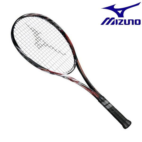 ◆◆【ガット張りサービス】 <ミズノ> MIZUNO スカッドプロC(ソフトテニス) 63JTN852 (54:ハイブリッドブラック×フェニックス)
