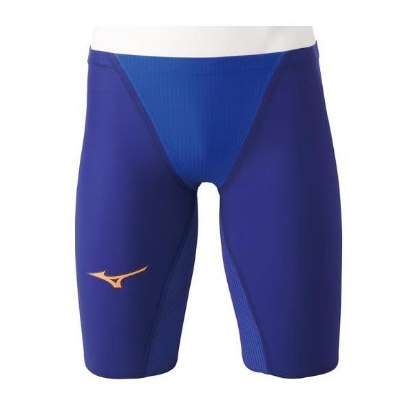 ◆◆ <ミズノ> MIZUNO 競泳用GX・SONIC IV MR ハーフスパッツ[ジュニア] N2MB9002_j (27:ブルー)