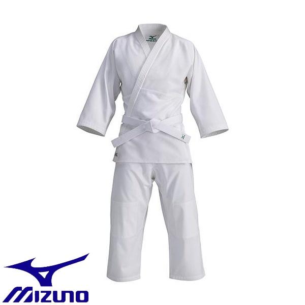 ◆◆ <ミズノ> MIZUNO <愛校>正課用(上衣・パンツ・帯セット)晒 22JG5A9001 (01:ホワイト)