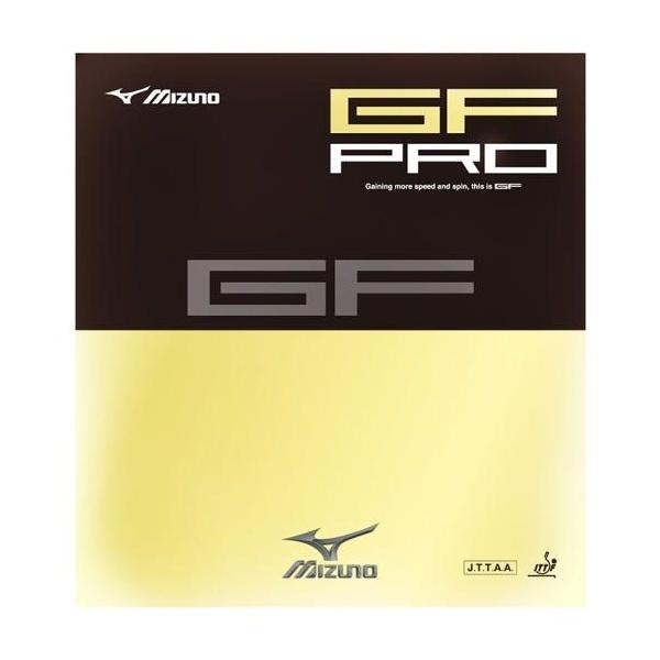 ◆◆送料無料 メール便発送 <ミズノ> MIZUNO 卓球ラバー GF PRO 83JRT648 (62:レッド)