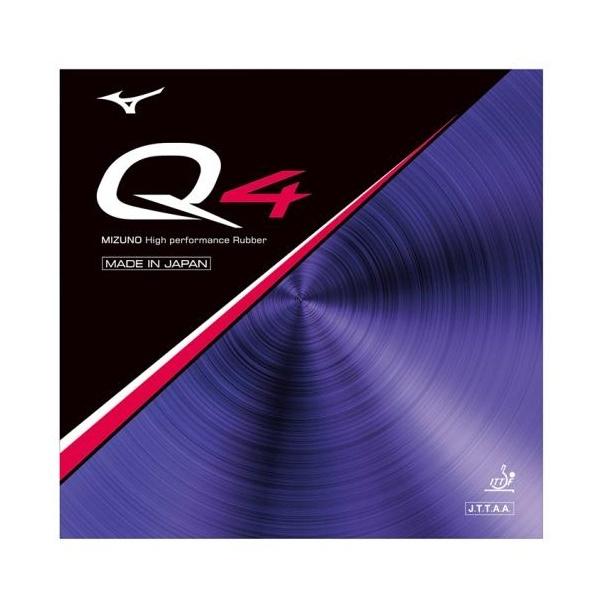 ◆◆送料無料 メール便発送 <ミズノ> MIZUNO 卓球ラバー Q4 83JRT894 (62:レッド)