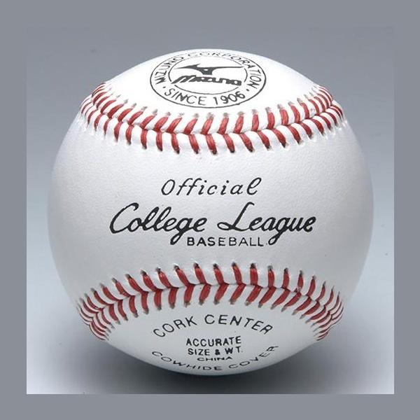 ◆◆ <ミズノ> MIZUNO 硬式用/カレッジリーグ 高校試合球(1ダース) 1BJBH10300 野球・ソフトボール