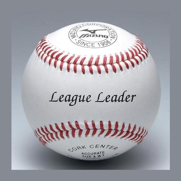 ◆◆ <ミズノ> MIZUNO 硬式用/リーグリーダー 高校練習球(1ダース) 1BJBH11400 野球