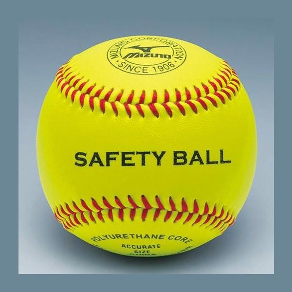 ◆◆ <ミズノ> MIZUNO 硬式用/セーフティーボール 守備練習球(1ダース) 1BJBH82600 野球・ソフトボール
