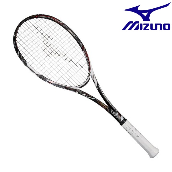 ◆◆【ガット張りサービス】 <ミズノ> MIZUNO ディオスプロC(ソフトテニス) 63JTN962 (09:ソリッドブラック×ネオホワイト) テニス
