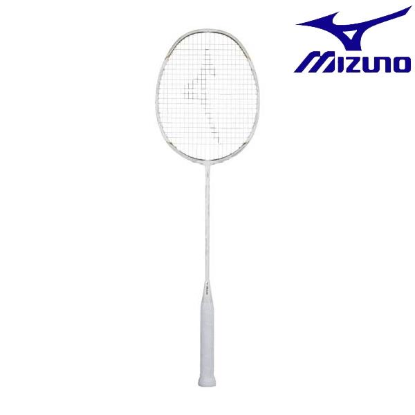 ◆◆ <ミズノ> MIZUNO アルティウス 01 FEEL(バドミントン) 73JTB901 (01:ホワイト×ゴールド) バドミントン
