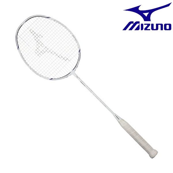 ◆◆ <ミズノ> MIZUNO アルティウス 01 SPEED(バドミントン) 73JTB902 (01:ホワイト×ネイビー) バドミントン