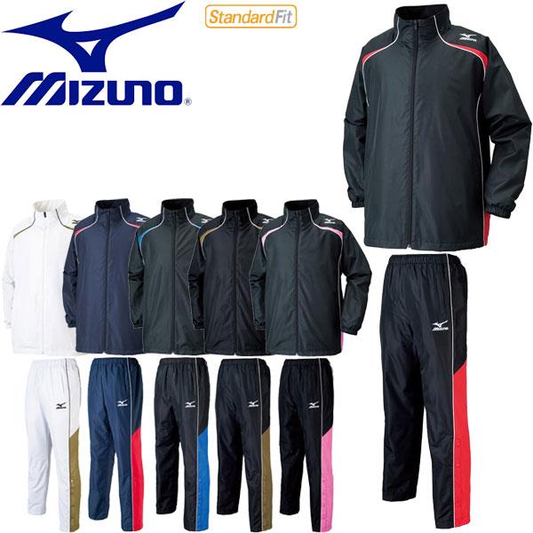 ◆◆ <ミズノ> 【MIZUNO】 ユニセックス ウィンドブレーカーシャツ&パンツ バスケットボール ブレーカー上下セット セットアップ W2JE6501-W2JF6501