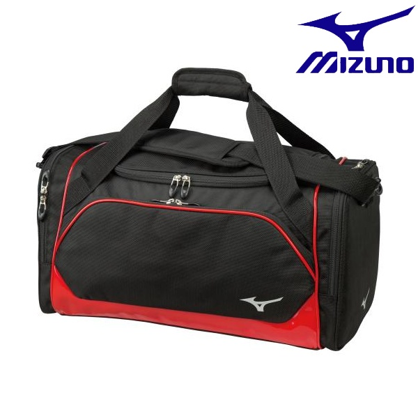 ◆◆ <ミズノ> MIZUNO 20 ボストンバッグ[メンズ] 5LJB200100 (0962:ブラック×レッド) ゴルフ