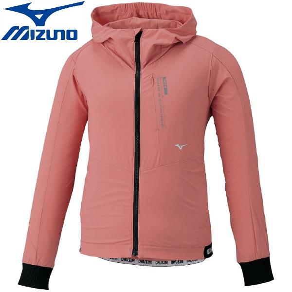 ◆◆ <ミズノ> MIZUNO ウィンドブレーカージャケット(ウィメンズ) 32ME0310 (64:ピーチピンク) スポーツウェア