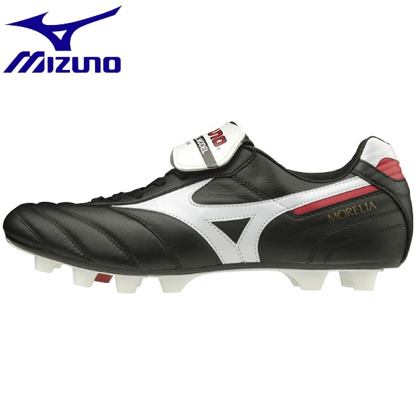 ◆◆ <ミズノ> MIZUNO モレリア II JAPAN(ユニセックス) P1GA2000 (01:ブラック×ホワイト) サッカー・フットサル