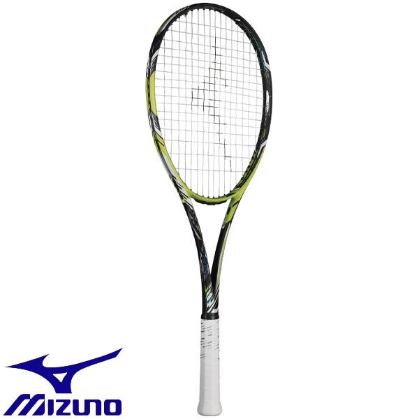 ◆◆ <ミズノ> MIZUNO DIOS 50-C(ディオス50シー) 63JTN966 (37:ソリッドブラック×ネオライム) テニス