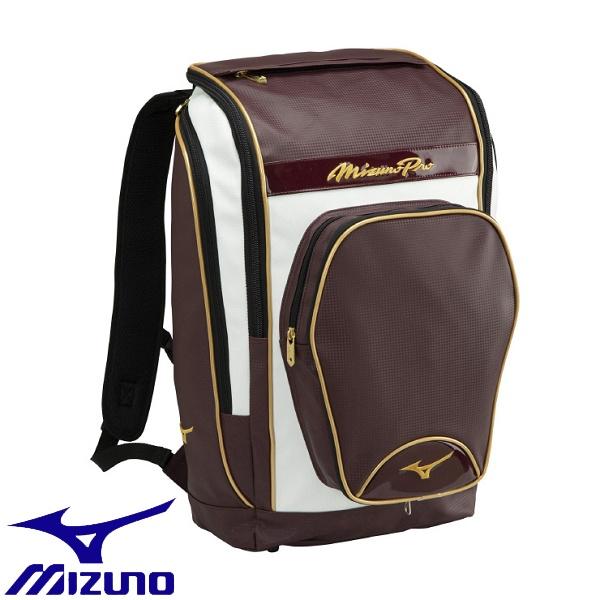 ◆◆ <ミズノ> MIZUNO 【ミズノプロ】オールインワンバックパック 1FJD0000 (63:エンジ) 野球・ソフトボール