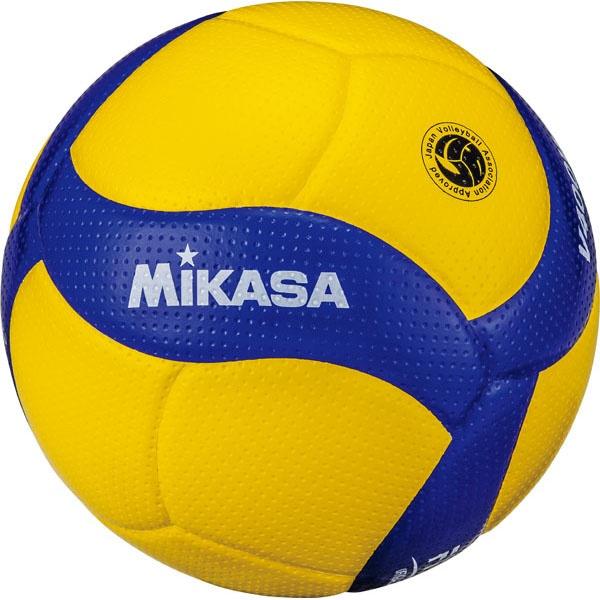 ◆◆ <ミカサ> MIKASA バレーボール V400WL (ブルー/イエロー)