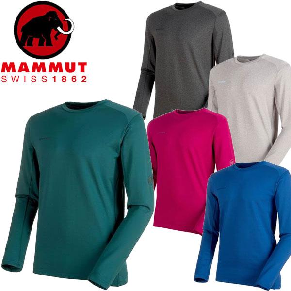 ◆◆ <マムート> 【MAMMUT】 Runbold ML Crew Neck Unisex アウトドア 登山 ミッドレイヤー クルーネック長袖シャツ ユニセックス 1014-00620